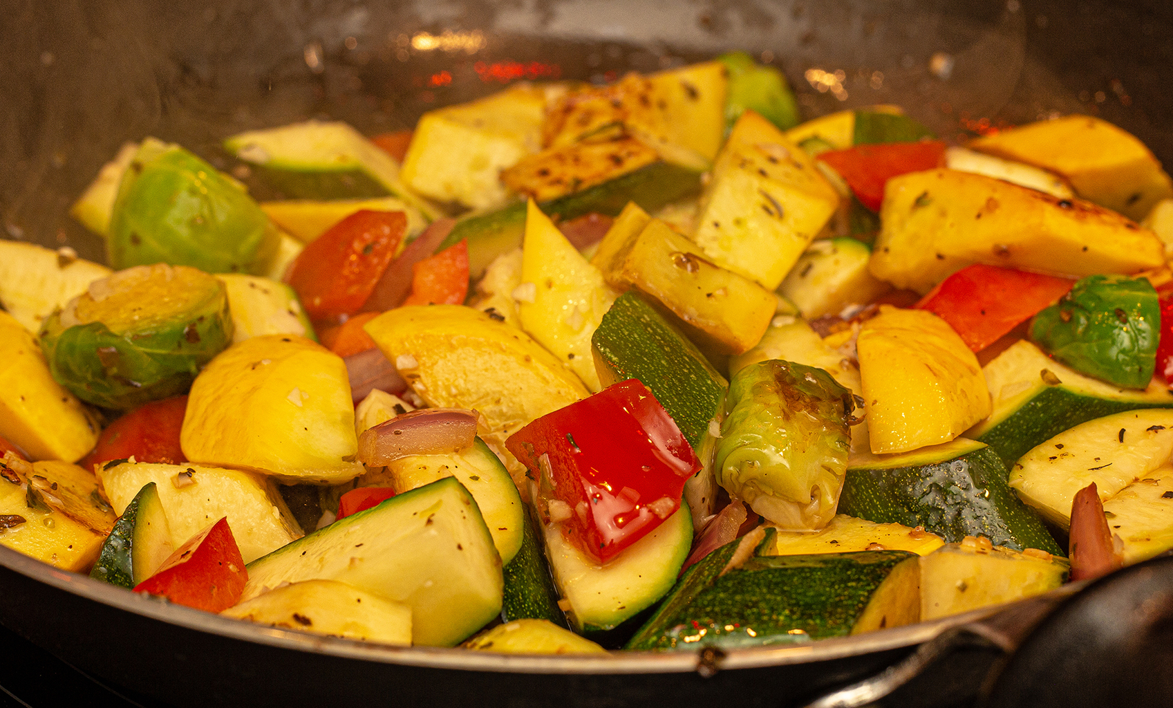 Squash & Peppers Prep